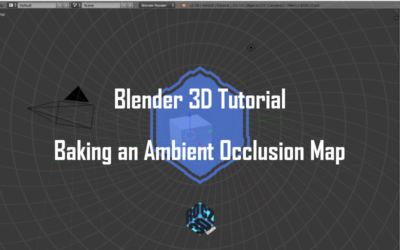 Blender 3D: Baking an Ambient Occlusion Map
