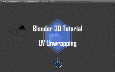 Blender 3D Modeling Basics Pt 10: UV Unwrapping