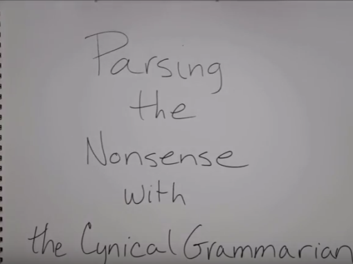 Parsing the Nonsense: Episode 0
