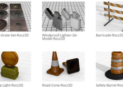 Digital 3D Assets