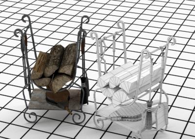Fireplace-Tool-Set-3d-Model-Rocz3D